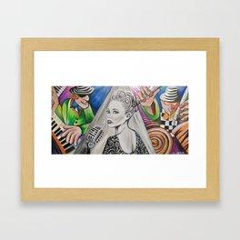 Girl from Impanema Framed Art Print