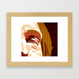 """""""Faces - Petty"""" by Kailyn Boehm Framed Art Print"""
