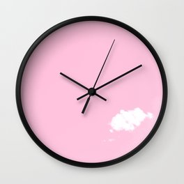 Lonely Cloud - Pink dreams Wall Clock