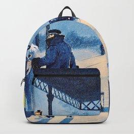 Paul Gustav Fischer - The Last Train - Digital Remastered Edition Backpack