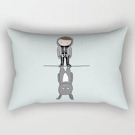 I will travel through wormholes for you Rectangular Pillow