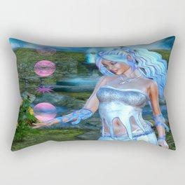Mysticals Lake Rectangular Pillow