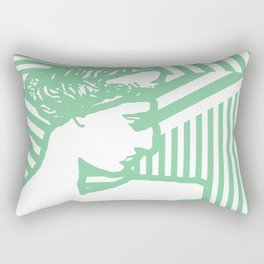 Gods Geometric - Aphrodite Rectangular Pillow
