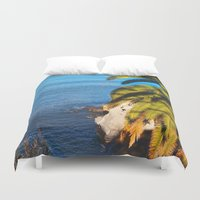 san diego Duvet Covers featuring San Diego Overlook by Tdrisk46