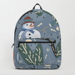 Snowman Backpack