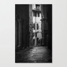 One Man Canvas Print
