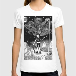 Witchy Skateboarder T-shirt