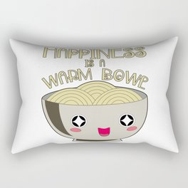 Funny Vietnamese Pho Soup Asian Noodle Git Bowl Rectangular Pillow