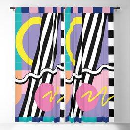 Memphis pattern 85 - 80s / 90s Retro Blackout Curtain