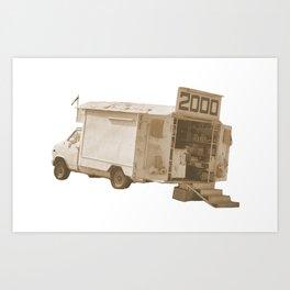 van2000  Art Print