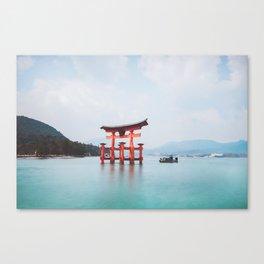 Floating Shringe of Miyamima Canvas Print