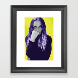 Zella Framed Art Print