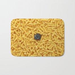 Pasta & Tiny Tiny Camera Bath Mat