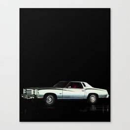 1976 Chevrolet Monte Carlo Canvas Print