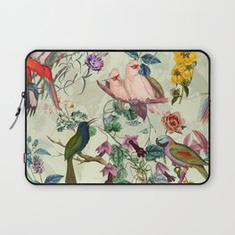 Floral and Birds VIII Laptop Sleeve