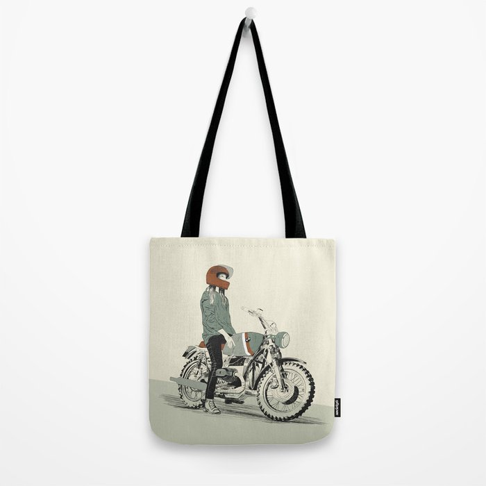 The Woman Rider Tote Bag