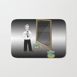 The Empty Mirror Bath Mat