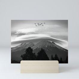 BNW Mount Shasta Mini Art Print