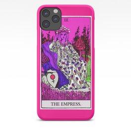 3. The Empress- Neon Dreams Tarot iPhone Case