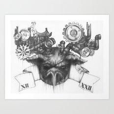 XII.XXII Art Print