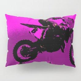 MX  - Motocross Racer Pillow Sham