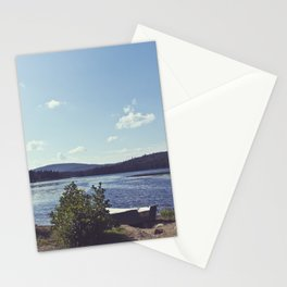 rivers and roads Stationery Cards