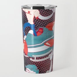 Rocket Christmas Travel Mug