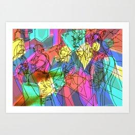 Tryory Art Print
