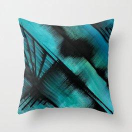 Diagonals (1) Throw Pillow