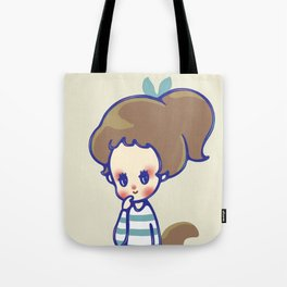 why are you smiling? Tote Bag