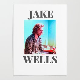 Jake Wells Colourful #1 Poster