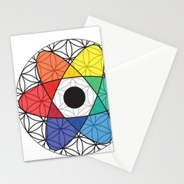 Flower of Science Stationery Cards