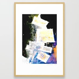 Grietas Framed Art Print