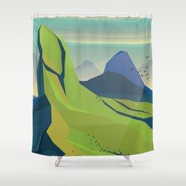 Grand Landscape Shower Curtain