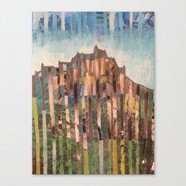 Edinburgh mixed media collages Canvas Print