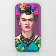 Trendy Frida Kahlo Slim Case Galaxy S5