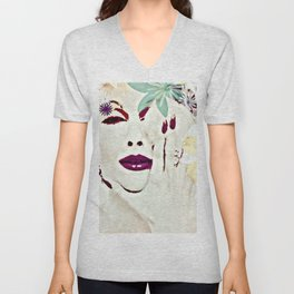 SHE COMES IN COLORS Unisex V-Neck
