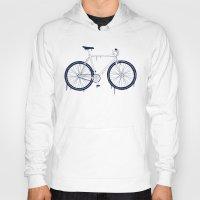 bike Hoodies featuring BIKE by TMSYO