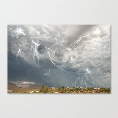 Arrival of the Monsoon Storm Generator Canvas Print