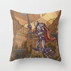 Violencia Robotica Throw Pillow