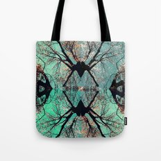 autumn tree-vessel pattern Tote Bag