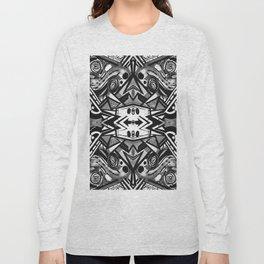 "Future funk Pattern ""symeric"" Long Sleeve T-shirt"