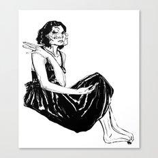 Over-Sensitive Canvas Print