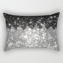 Chevron Universe Rectangular Pillow