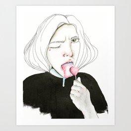 Loss of Innocence Art Print