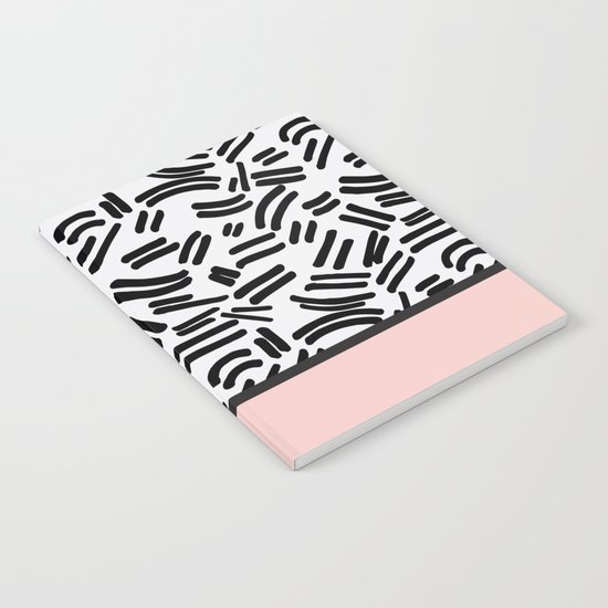Patterned & Pink Notebook