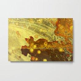 Sun Spill Metal Print