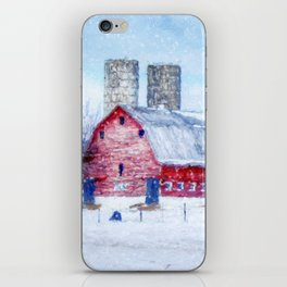 A Snowy Day iPhone Skin