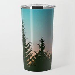 Sunset Silhouettes Travel Mug