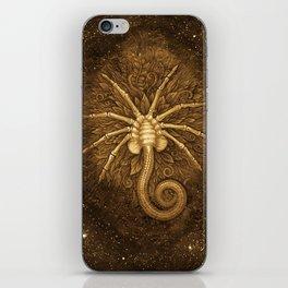 Facehugger (Sepia) iPhone Skin